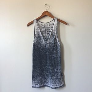 Gray distressed Project Social T Tank
